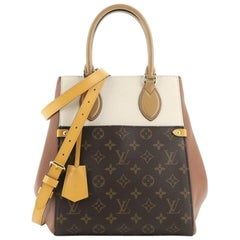 Louis Vuitton Fold Tote Monogram Canvas and Leather MM