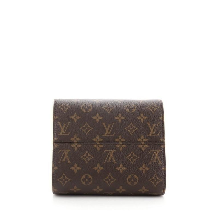 Women's or Men's Louis Vuitton Fold Tote Monogram Canvas and Leather PM For Sale