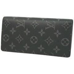 LOUIS VUITTON Folded portofeuilles Brazza Mens long wallet M61697