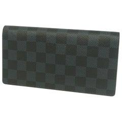 LOUIS VUITTON Folded portofeuilles Brazza Womens long wallet N63212