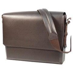 LOUIS VUITTON Fonzie Mens shoulder bag M46570 cafe( dark brown)