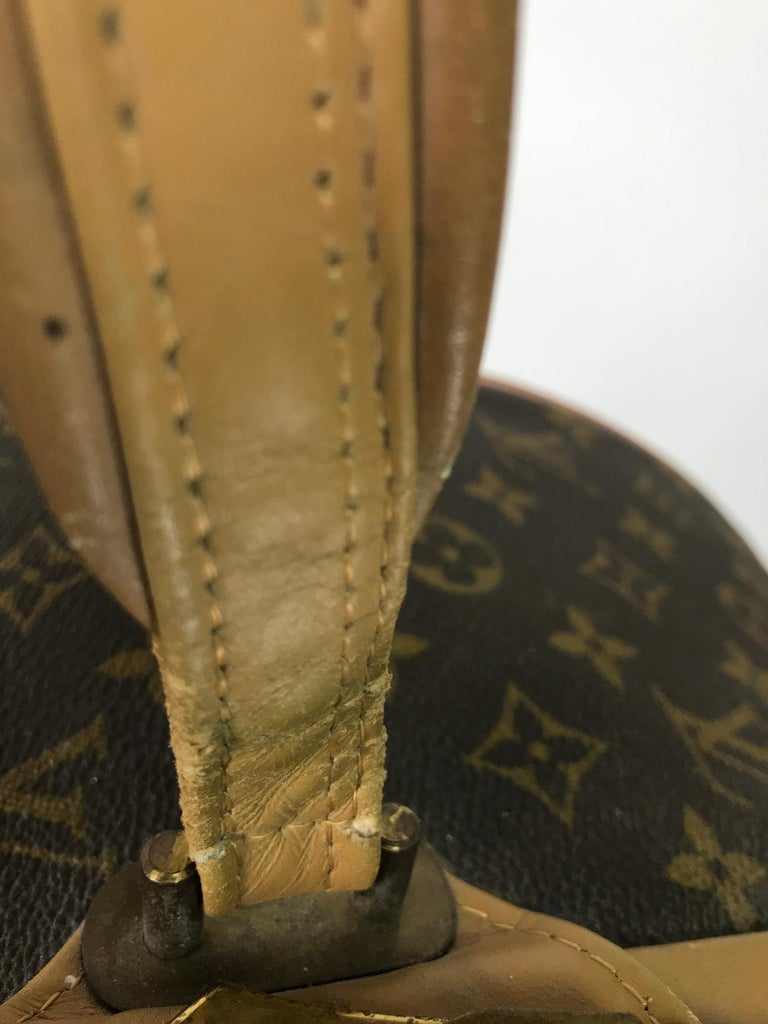 Louis Vuitton for The French Co. 50cm Boite Chapeaux Round Hat Box Rare  For Sale 7
