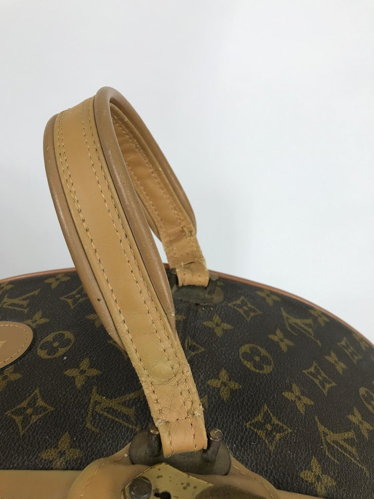 Louis Vuitton for The French Co. 50cm Boite Chapeaux Round Hat Box Rare  For Sale 9