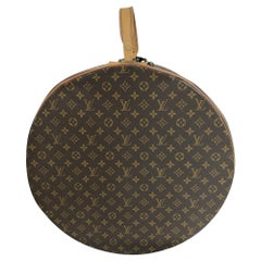 Louis Vuitton for The French Co. 50cm Boite Chapeaux Round Hat Box Rare