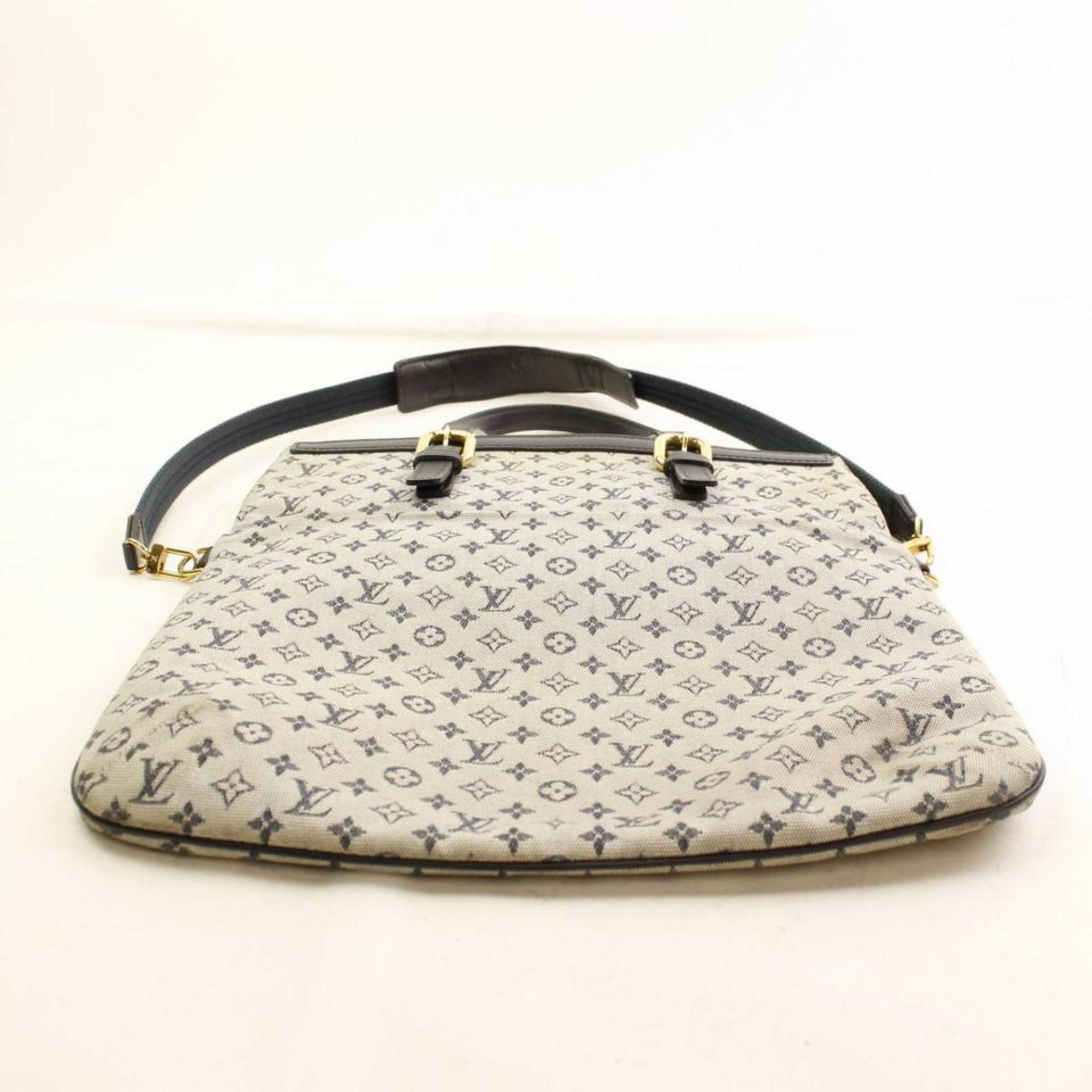 c4beb7d3b0f5 Louis Vuitton Francoise Monogram Mini Lin 2way 866335 Baige Canvas Tote For  Sale at 1stdibs