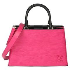 Louis Vuitton Freesia & Black Epi Leather Kleber PM