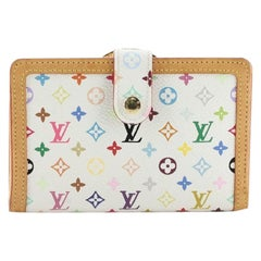 Louis Vuitton French Wallet Monogram Multicolor