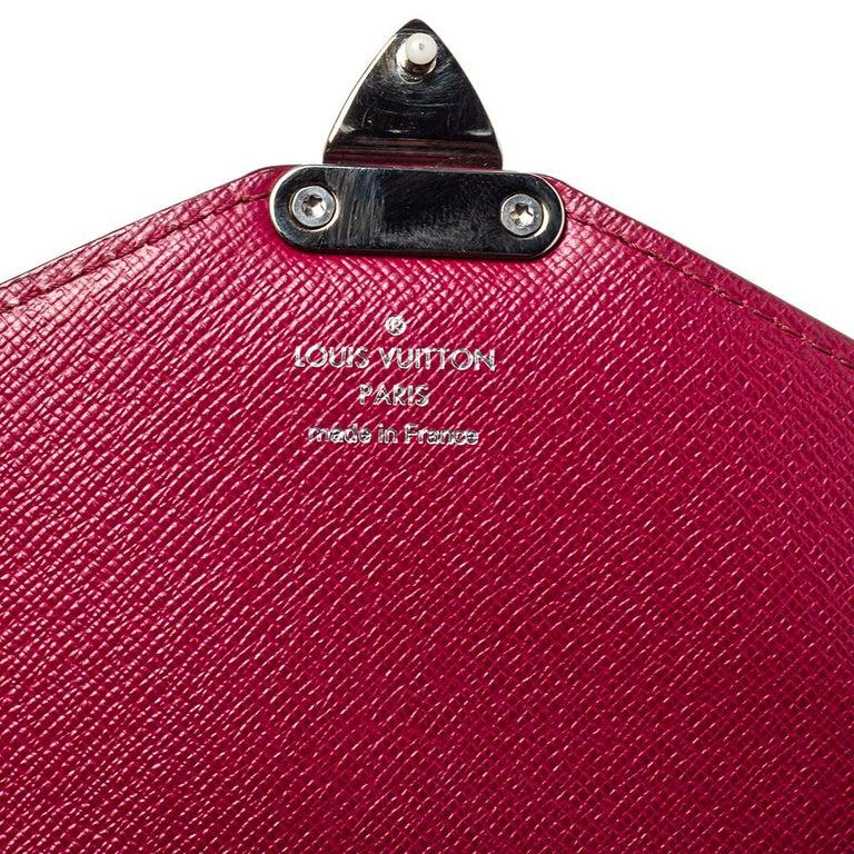 Louis Vuitton Fuchsia Epi Leather Monceau BB Bag For Sale 2