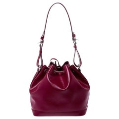 Louis Vuitton Fuchsia Epi Leather Petit Noe Bag