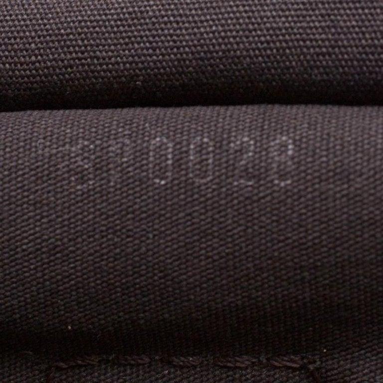 Louis Vuitton Fusain Monogram Canvas Mini Lin Speedy 30 Bag 6