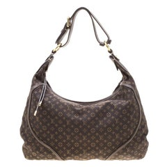 Louis Vuitton Fusain Monogram Mini Lin Manon MM Bag
