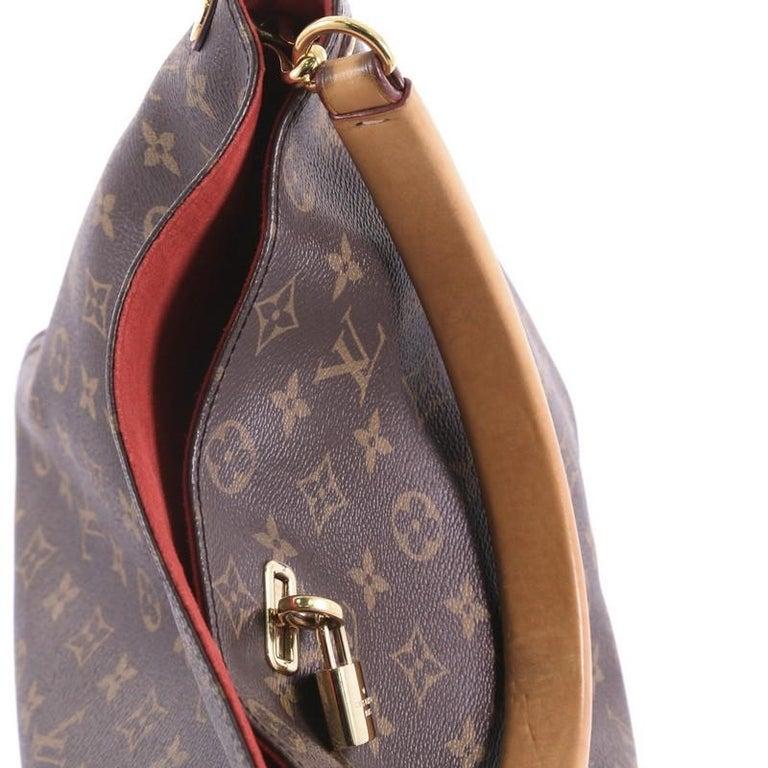 15d5a1cd4f9a Louis Vuitton Gaia Handbag Monogram Canvas at 1stdibs