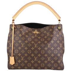 Louis Vuitton Gaia Handbag Monogram Canvas
