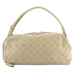 Louis Vuitton Galatea Handbag Mahina Leather MM