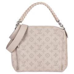 Louis Vuitton Galet Perforated Mahina Calfskin Leather Babylon BB