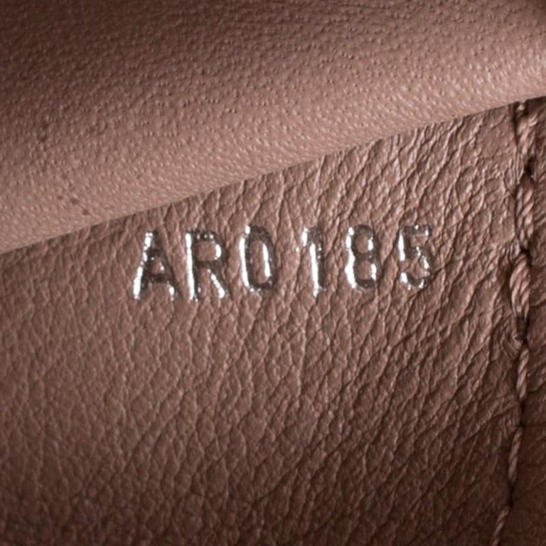 Louis Vuitton Galet Taurillon Leather Capucines MM Bag For Sale 3