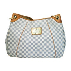 Louis Vuitton Galliera GM Damier Azur Handbag
