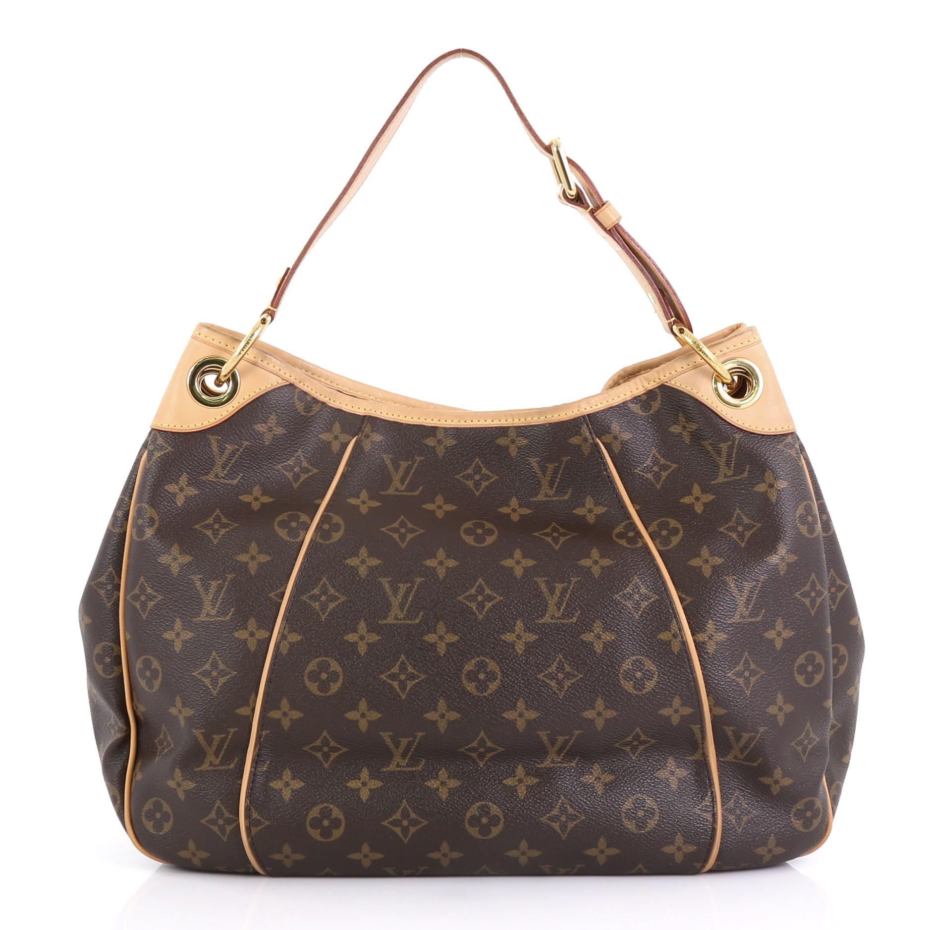 a6bb055a659 Louis Vuitton Galliera Handbag Monogram Canvas PM