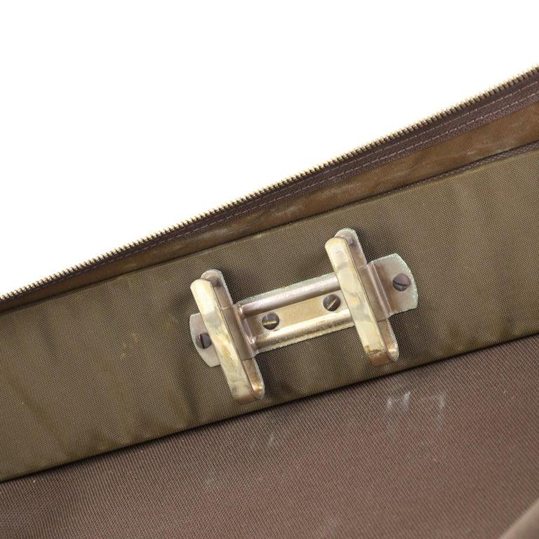 Louis Vuitton Garment Carrier Bag Monogram Canvas Two Hangers For Sale 7