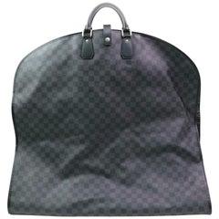 Louis Vuitton Garment Cover Damier Hanger 870282 Black Coated Canvas Travel Bag