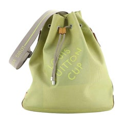 Louis Vuitton Geant Drawstring Shoulder Bag Limited Edition Canvas