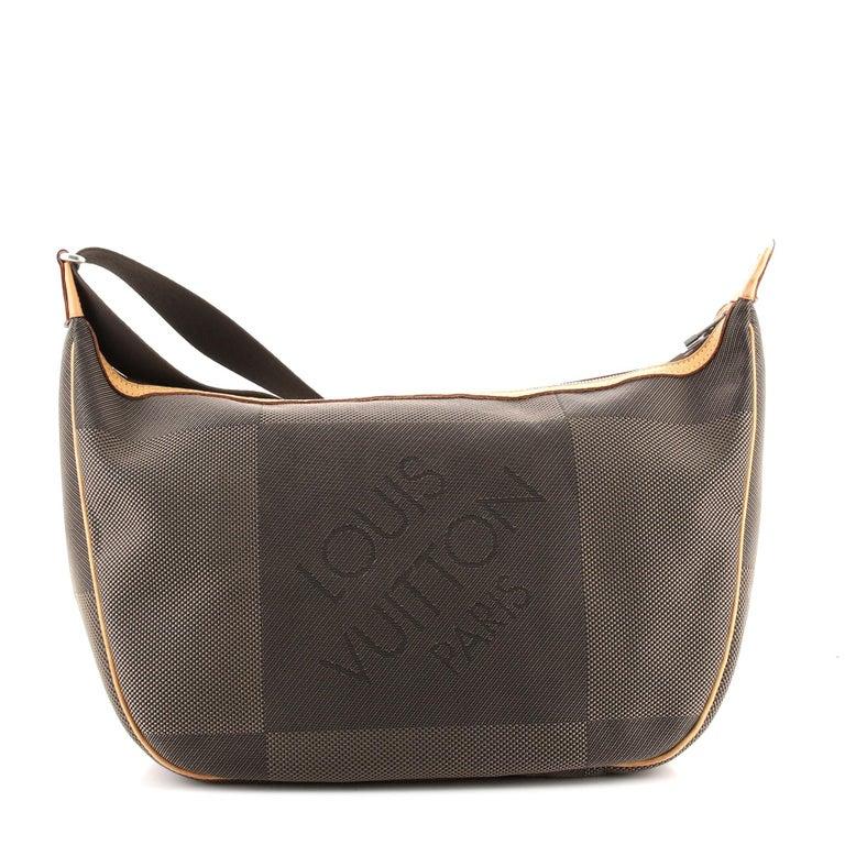 Black Louis Vuitton Geant Explorateur Shoulder Bag Geant Canvas For Sale