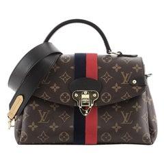 Louis Vuitton Georges Handbag Monogram Canvas MM