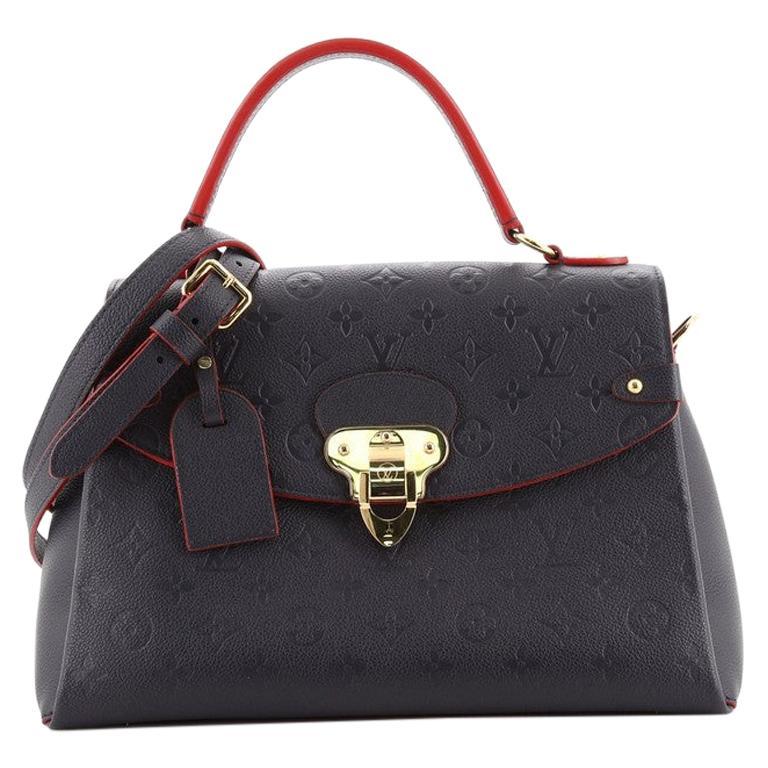 Louis Vuitton Georges Handbag Monogram Empreinte Leather MM For Sale