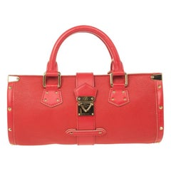 Louis Vuitton Geranium Suhali Leather L'Epanoui PM Bag