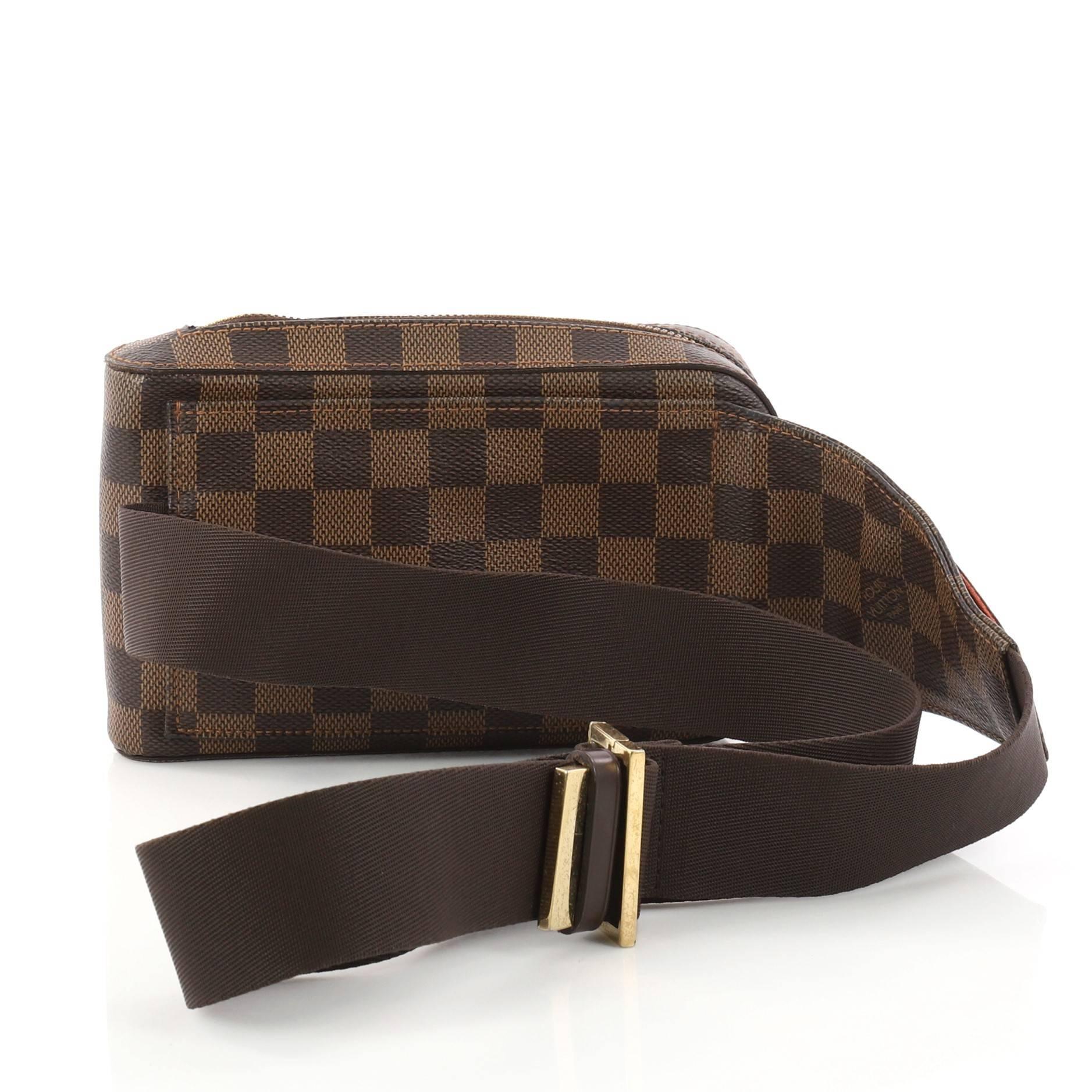 d3a8ea94516b Louis Vuitton Geronimos Waist Bag Damier at 1stdibs