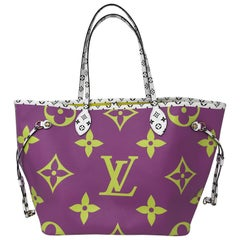 Louis Vuitton Giant Purple Neverfull MM