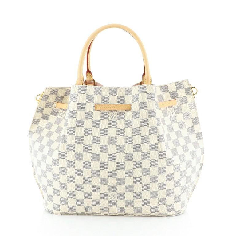 Louis Vuitton Girolata Handbag Damier In Good Condition For Sale In New York, NY