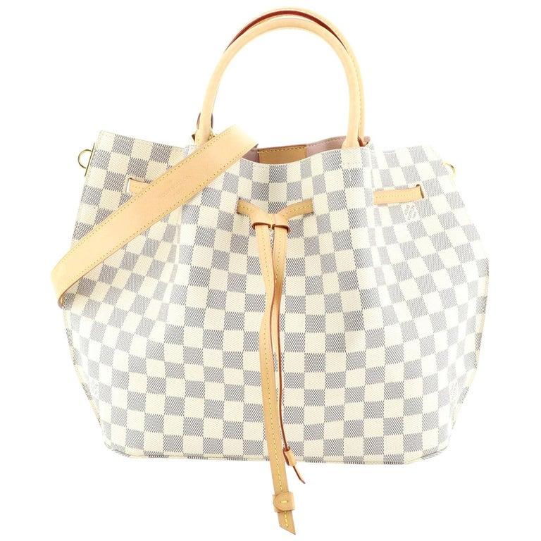 Louis Vuitton Girolata Handbag Damier For Sale