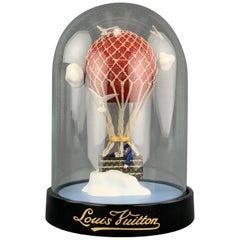 LOUIS VUITTON Glass Hot Air Balloon Snow Globe
