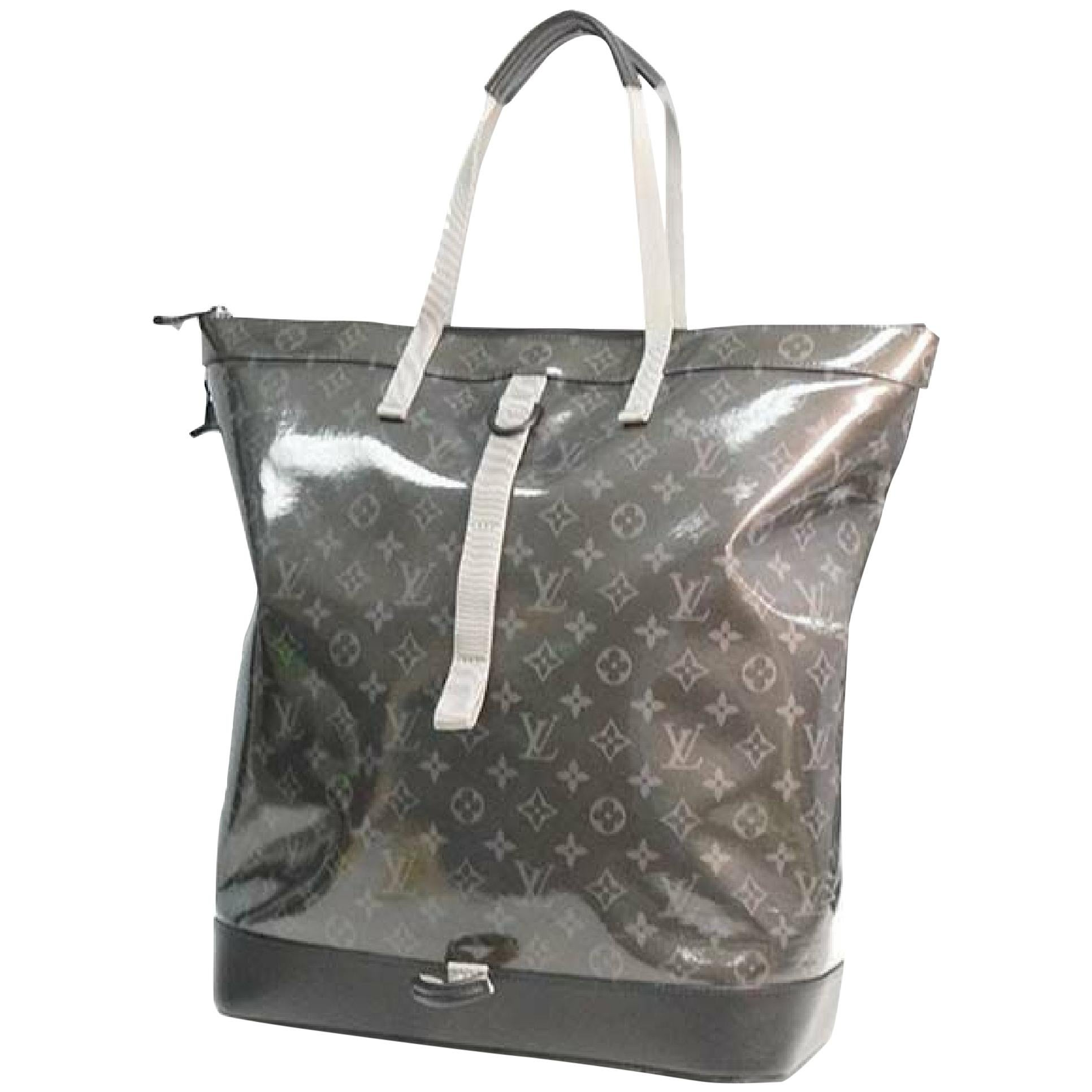 LOUIS VUITTON Glaze Zipped tote ruck sack Mens tote bag M43900