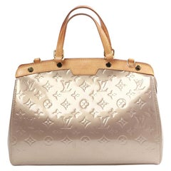 LOUIS VUITTON Golden Leather Bréa Bag