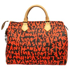 Louis Vuitton Graffiti Stephen Sprouse Speedy 30 Bag