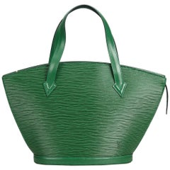 Louis Vuitton Green Epi Saint Jacques PM