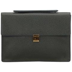 Louis Vuitton Green Porte-Document Angara Briefcase