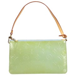 Louis Vuitton Green Vernis Leather Leather Vernis Lexington Pochette France