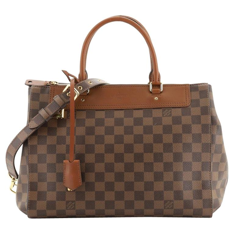 Louis Vuitton Greenwich Bag Damier For Sale