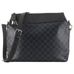 Louis Vuitton Greenwich Messenger Bag Damier Cobalt