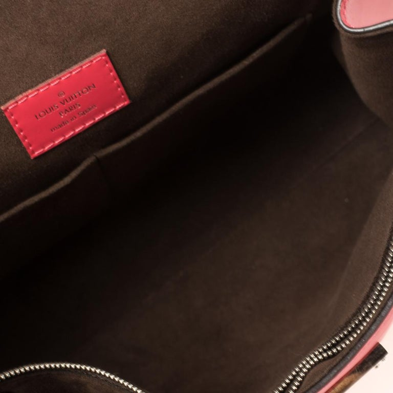 Louis Vuitton Grenade Epi Leather Cluny BB Bag For Sale 5