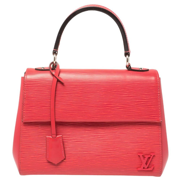 Louis Vuitton Grenade Epi Leather Cluny BB Bag For Sale
