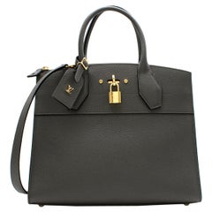 Louis Vuitton Grey Autres High End City Steamer MM Bag