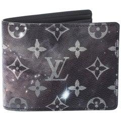 Louis Vuitton Grey Galaxy Monogram Canvas Multiple Bifold Wallet