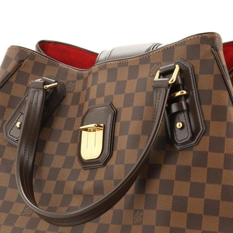 Louis Vuitton Griet Handbag Damier 3