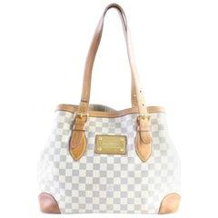 Louis Vuitton Hampsted Mm 228477 Azur Damier Canvas Shoulder Bag
