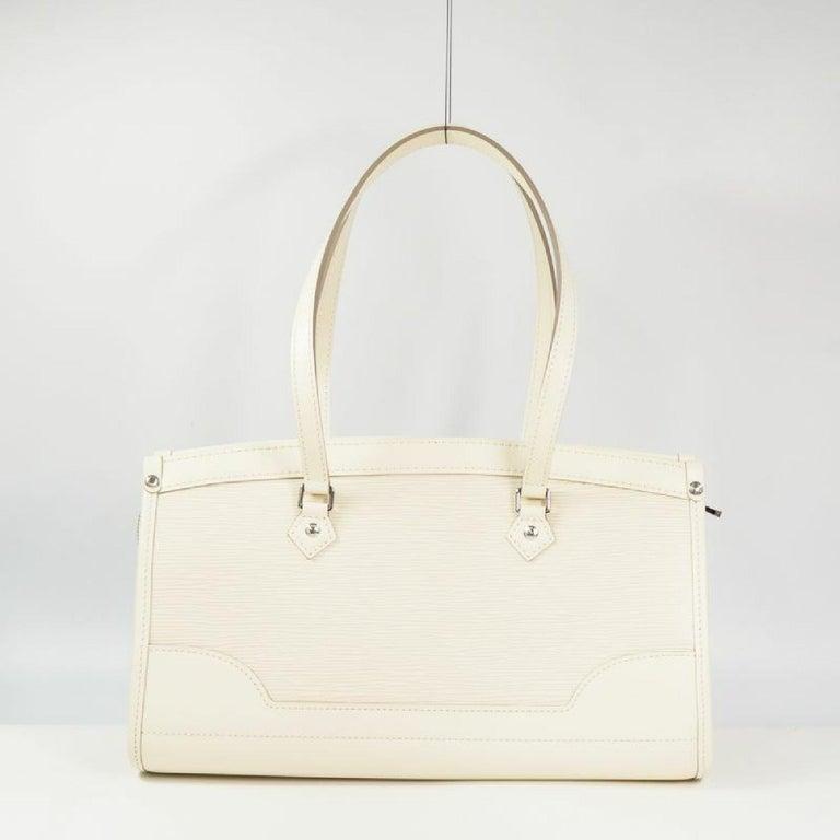 White LOUIS VUITTON handbag Madeleine PM Womens shoulder bag M5933J Yvoire For Sale