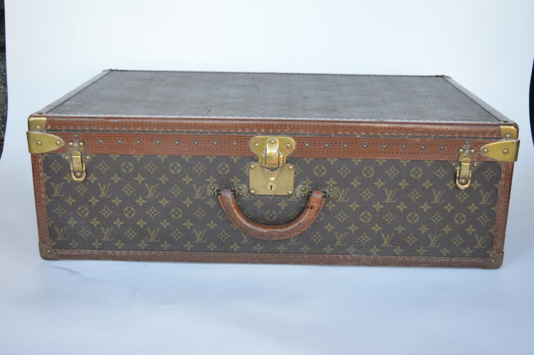 French Louis Vuitton Hard Trunk For Sale